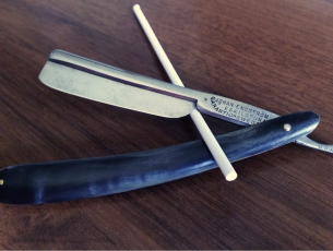 straight razor опасная бритва Johan Engstrom