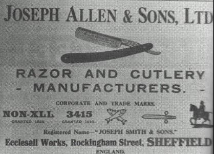Joseph Allen & Sons pictur