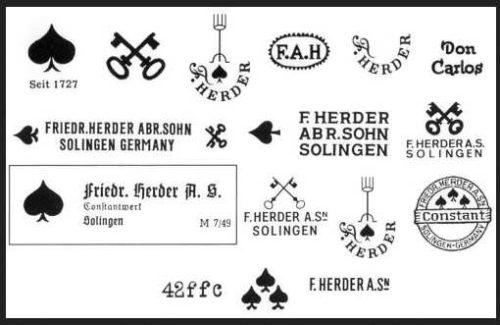 Friedr. Herder Abr. Sohn (2)straight razor