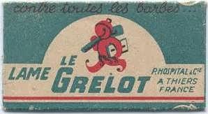 Le Grelot. straight razor