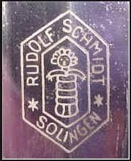 бритва Rudolf Schmidt straight razor.
