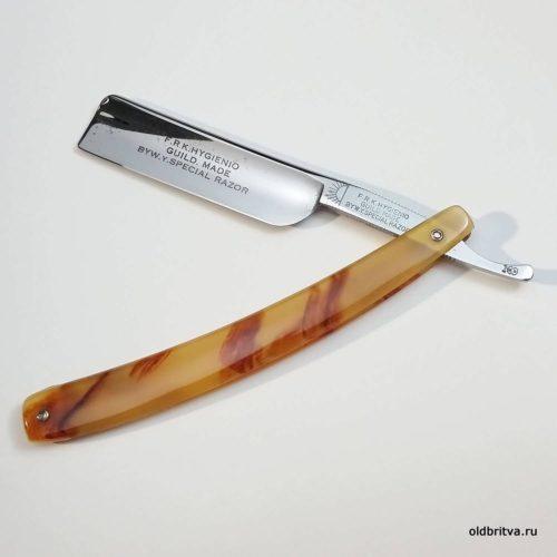 бритва F.R.K. Hygienio straight razor