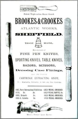 бритвы BROOKES & CROOKES