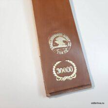 Ремень для правки опасной бритвы Kanayama I Lama 30000 (Shell Cordovan) 650х68 мм, Токио, Япония